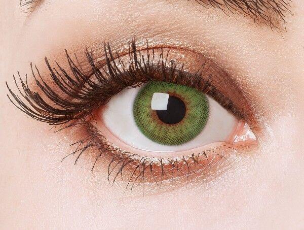 aricona Farblinsen deckend grüne farbige Kontaktlinsen bunt farbig intensiv grün