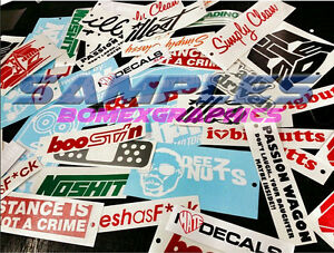 Custom Stickers Decals Windshield Banners