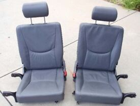 MERCEDES ML W163 REAR SEATS 3rd row boot extra 6 -7 seats