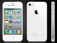 WHITE iPhone 4 - 16gb - mint condition - like new - TELUS