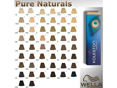 wella koleston perfect coloration cheveux pure naturals 100ml - Coloration Wella