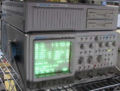 Tektronix 2430a Digital Oscilloscope 2402a Tekmate