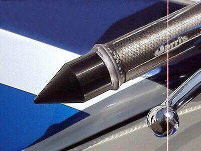 (Yamaha YZF R6 R1 BLACK SPIKE BAR ENDS)