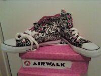 Airwalk Hi-Tops Size 10 (1 Size 9)