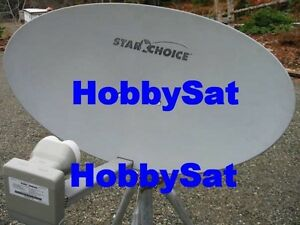 60e Star Choice Shaw Direct satellite dish quad triple lnb x