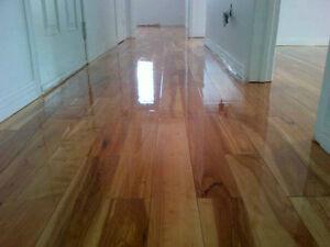 Sablage de plancher et marches / Teinture de plancher - marches