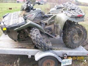 Wanted: Looking to Buy smashed and broken Snowmobiles & Atvs
