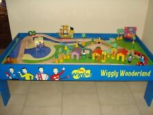 Wiggles indoor toy train set and table - good condition Baulkham Hills The Hills District Preview