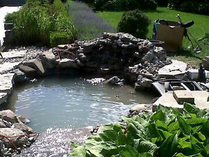 New Pond Install & Pond Re-Builds / FaceLift London Ontario image 6