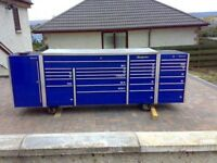 Snap on roll cab and side cabinets