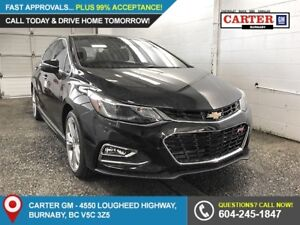 2018 Chevrolet Cruze Premier Auto FWD - Heated Front Seats -...