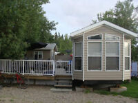 Park Model Trailer on Leased Lot at Holiday Acres - Candle Lake