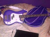 Gypsy Rose Bass Guitar
