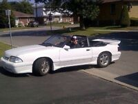86 Mustang Convertible converted to 87 5.0