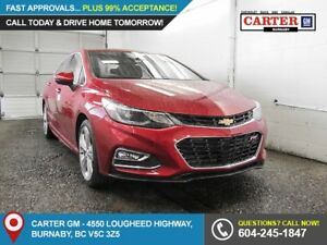 2018 Chevrolet Cruze Premier Auto FWD - Heated Steering Wheel...