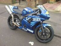 2003 R6 track fairings. Valentino Rossi (The Doctor) replica