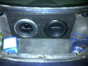 2 Pioneer Champion subs in box