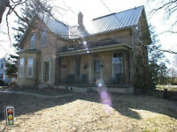 Country Home/Old Manse Yellow brick century home-5 bedrooms