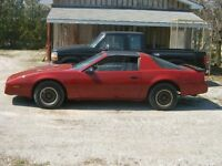 1984 Firebird T-Roof Good Condition