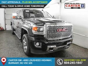 2018 GMC Sierra 3500HD Denali 4x4 - GPS Nav - Side Steps - He...