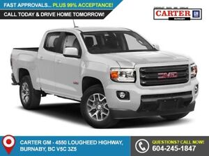 2018 GMC Canyon SLT 4x4 - Heated Power Front Seats - Leather...