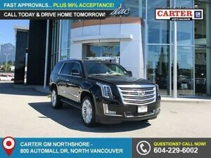 2018 Cadillac Escalade Platinum NAVIGATION - ROOF RACK - BLIN...
