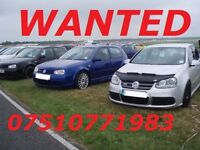 ***WANTED GOLF R32 ANY SHAPE YEAR CASH WAITING***