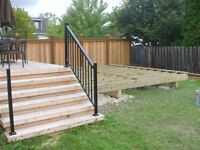 FENCE and DECK