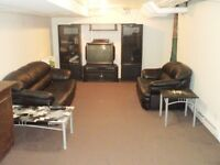 One bedroom basement apartment available July 1st
