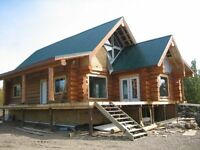 640 acre farm with log home for sale
