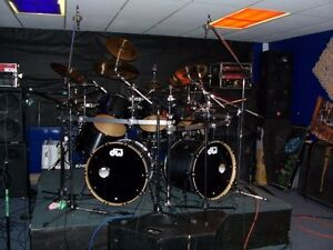 Dw drums Collector's series + Hardwares +Cymbals