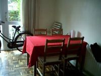 Dining table and 4 chairs - pine jokkmokk