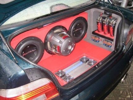 Sayed Cars Sound & Lights System car audio installation