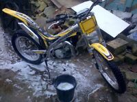 Gas gas 125cc txt pro 2006