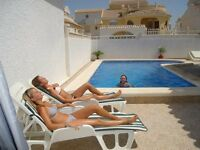 Beautiful 3 Bedroom 3 Bathroom Villa For Rent in Spain 7 nights in October