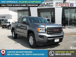 2018 GMC Canyon TRAILER SWAY CONTROL - REAR CAMERA - ALLOYS