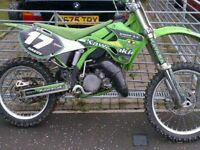 KX 125 for sale!! 2003 model ,needs broke in as it's had a full engine rebuild