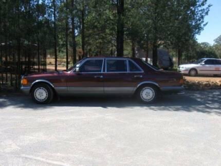 1984 Mercedes-Benz 380 Sedan Ganmain Coolamon Area Preview