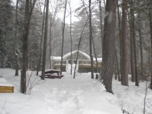 Beautiful 3 Bedroom house on Ottawa River for short term rental