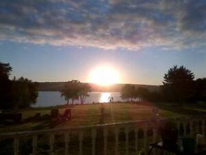 Stunning Private Waterfront Home in Cape Breton Near Cabot Links