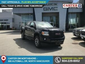 2018 GMC Canyon SLT SIDE STEPS - LEATHER - TRAILERING PACKAGE...