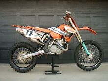 KTM 450 2005 Steve Ramon limited edition Condon Townsville Surrounds Preview