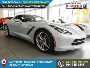 2019 Chevrolet Corvette Stingray RWD - Heated Power Front Sea...