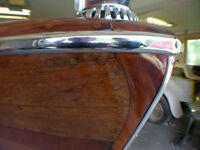 Wood refinishing and boat repair