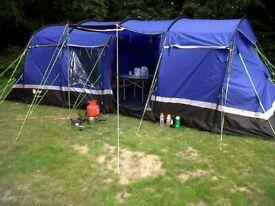 Hi-Gear Kalahari 8 berth tent & porch awning