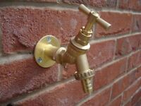 Plumber outside tap supplied and fitted £40