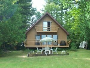 STUNNING VIEWS FROM THIS A-FRAME COTTAGE!! REDUCED PRICE!!