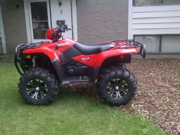 suzuki king quad 750 power steering for sale canada. Black Bedroom Furniture Sets. Home Design Ideas