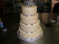 Wedding cakes, occasional cakes and desserts