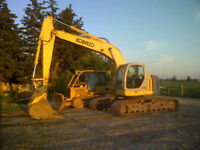 Excavating, Bulldozing, Mini-Ex, Skidsteer, Dump Truck Services